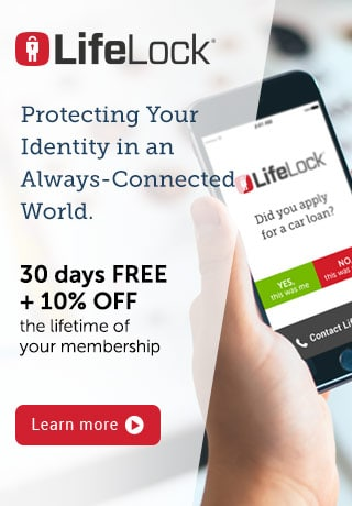 LifeLock Offer Banner 1