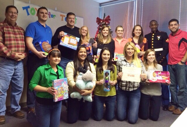 Toys for Tots Drive 2013