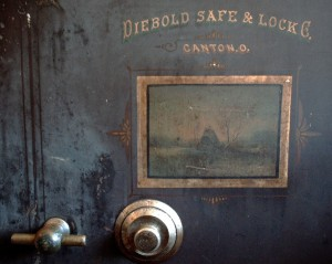 Old Safe for Valuables