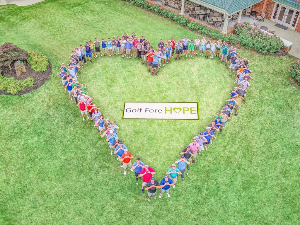 Gold Fore Hope event group
