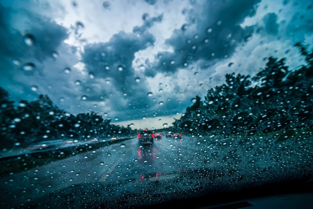 driving in rainy conditions